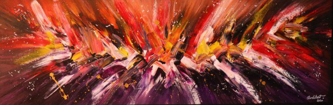 EXPLOSION OF COLOR  120X40